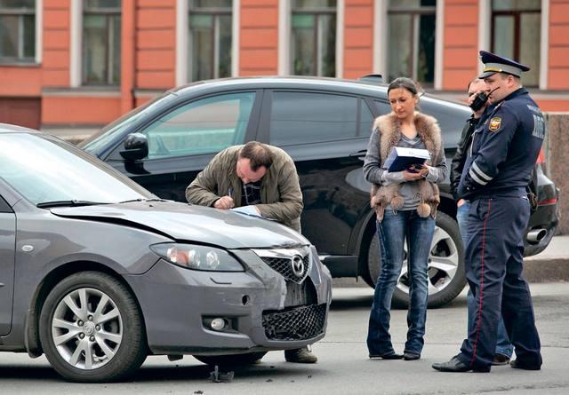действия водителя при дтп инструкция